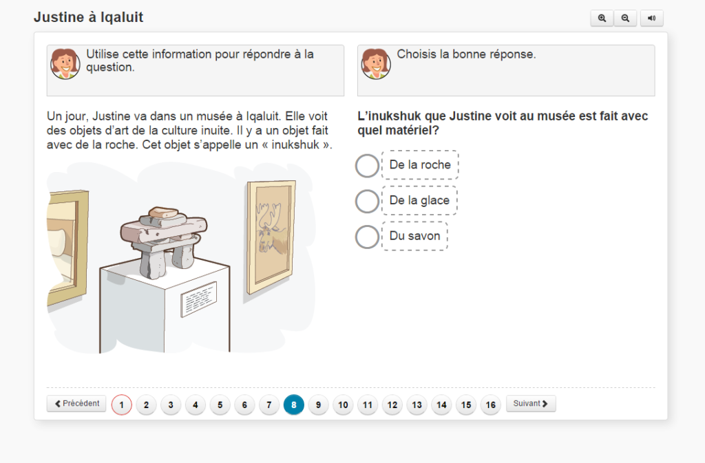 french language test for students